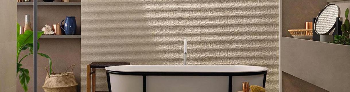 Bagno effetto pietra | Quaranta Ceramiche Srl