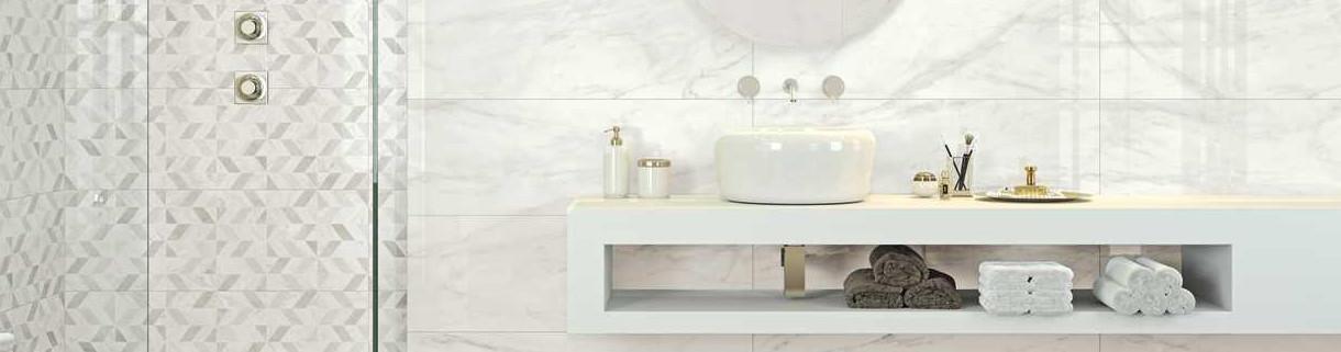 Rivestimento bagno effetto marmo | Quaranta Ceramiche Srl