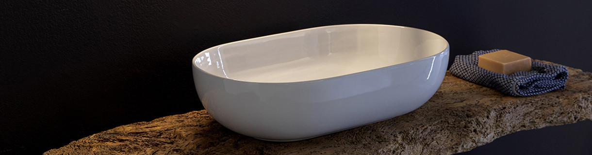 Lavabi da appoggio | Quaranta Ceramiche
